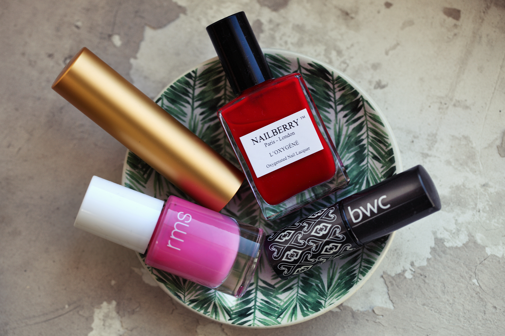 RMS Nailberry Nagellack Axiology BWC Lippenstift I Veggie Love