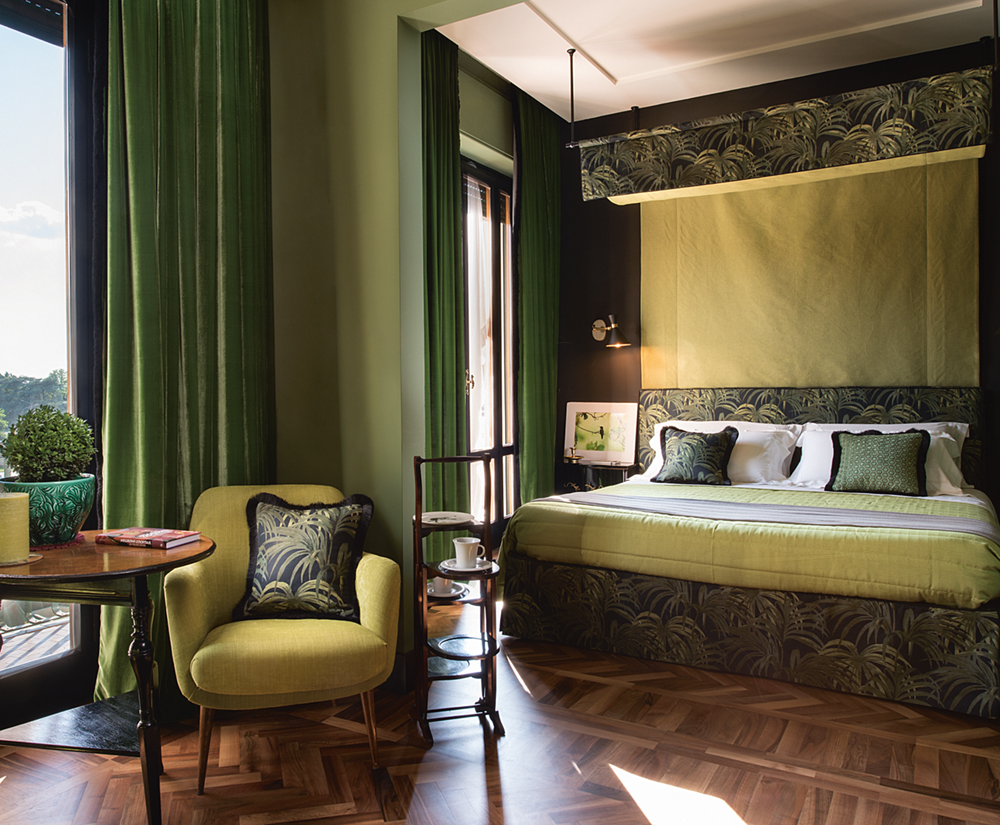 Velonas Jungle Luxury Suites in Florence Photo by Francesca Pagliai courtesy of Velonas Jungle Luxury Suites